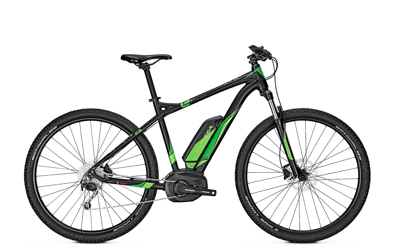 wypożyczalnia rowerów elektrycznych - Univega Summit E 1.0 (S) Black/Green