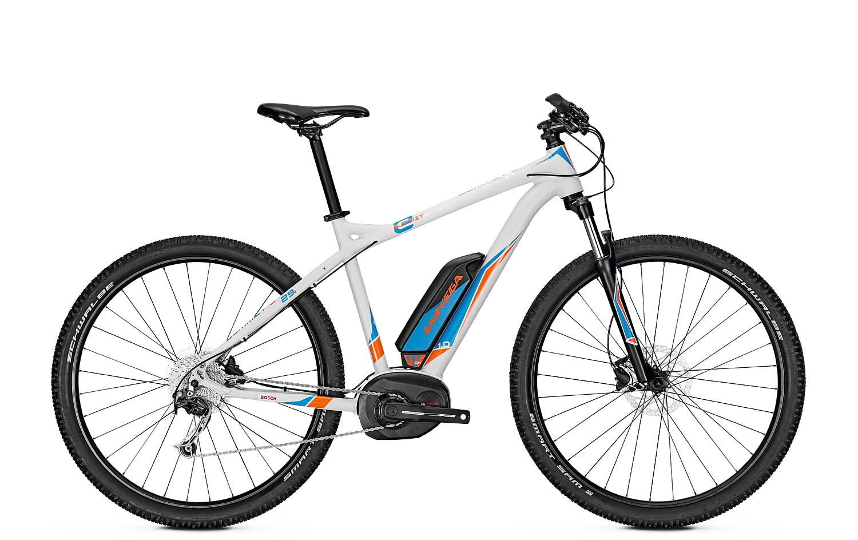 wypożyczalnia rowerów elektrycznych - Univega Summit E 1.0 (L) White/Orange