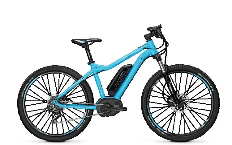 wypożyczalnia rowerów elektrycznych - Univega Vision E 2.0 SKY (M) Blue